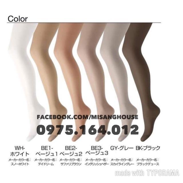 MẪU 2019_Set 5 quần tất Panty Stocking Nhật