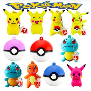phim hoạt hình dễ thương Pikachu pokemon Pendrive 64gb USB flash drive nhớ thẻ nhớ U đĩa Giá chỉ 109.740₫