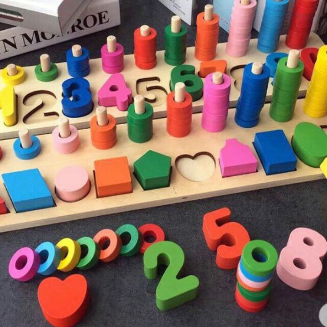 [Nhập TOYAPR10 giảm 10K]Đồ chơi giáo dục – Bảng lắp ghép