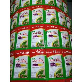 Dây 12 gói dầu gội sạch gầu Anubis 6gram