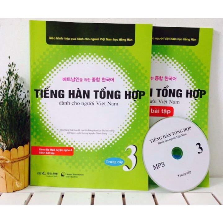 Giáo Trình & BT Tiếng Hàn Tổng Hợp dành cho người Việt Trung cấp 3