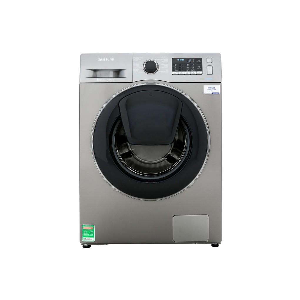 [ VẬN CHUYỂN MIỄN PHÍ KHU VỰC HÀ NỘI ] Máy giặt Samsung cửa ngang 10kg màu xám bạc WW10K54E0UX/SV-01