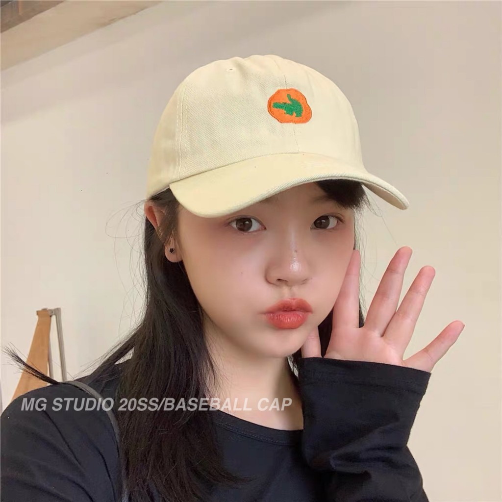 Mũ Lưỡi Trai MG STUDIO Thêu Hình Động Vật Dễ Thương