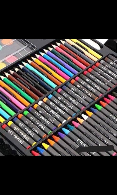 Hộp Bút Màu 150 Chi Tiết Cho Bé Giảm Chỉ Còn 99000 đ