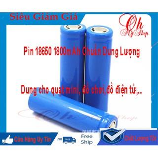 Cell Pin 18650 3.7v 1800mAh mới 100% chuẩn