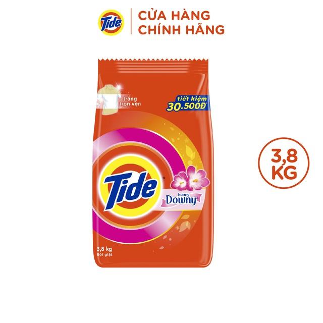 Bột giặt Tide Hương Downy Túi 3.8kg