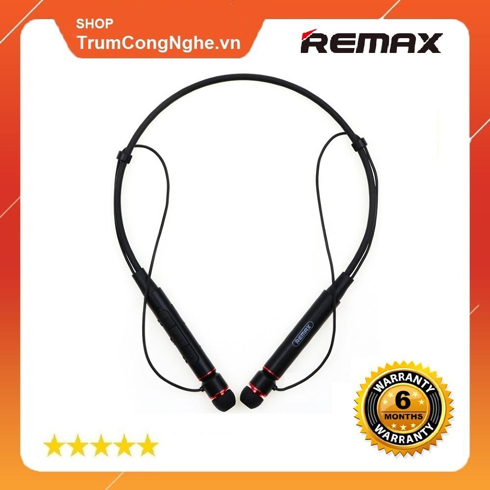 [Mã SKAMA07 giảm 8% đơn 250k](Chính hãng) Tai nghe Bluetooth đeo cổ thể thao Remax RB-S6 Sport ( Pass cực hay, êm tai )
