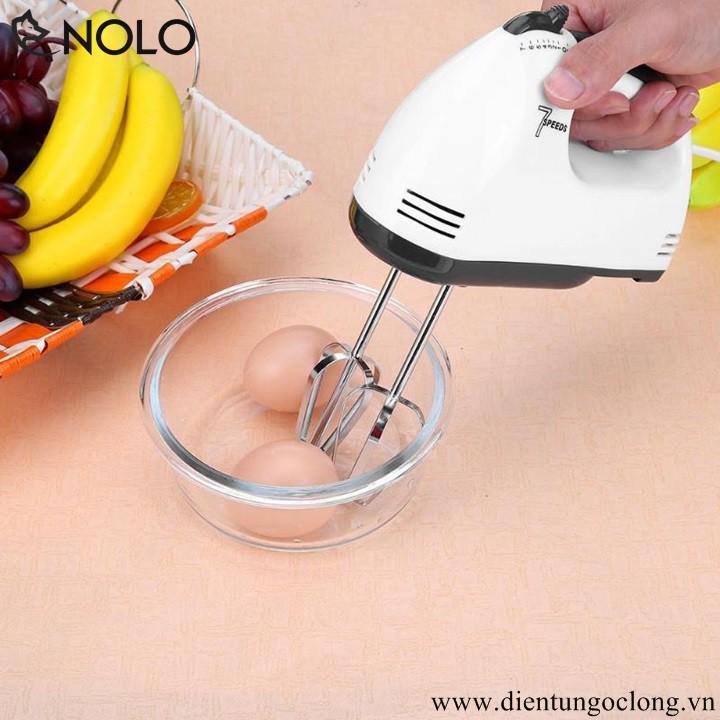 Máy Đánh Trứng Cầm Tay 7 Tốc Độ Tặng Dụng Cụ Mài Dao 3 Lưỡi S2250