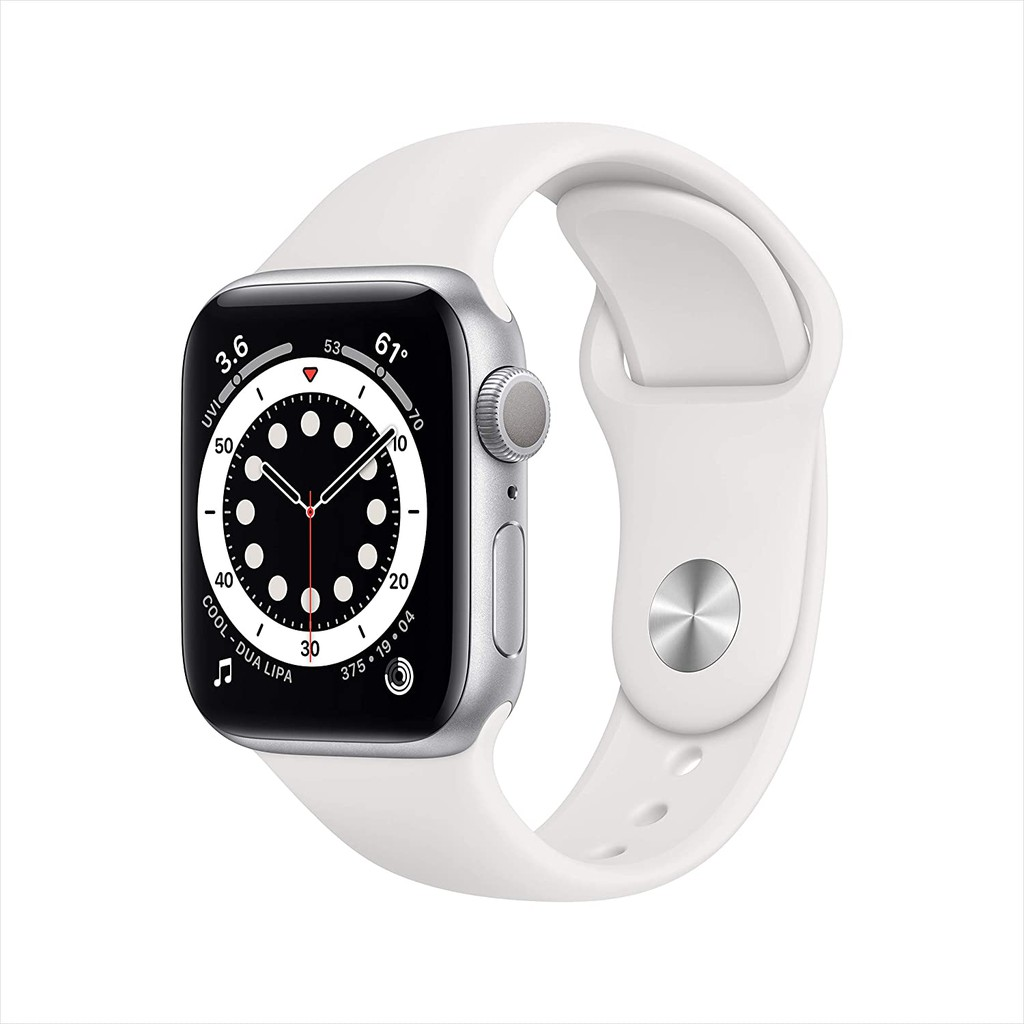Đồng Hồ Thông Minh New Apple Watch Series 6 GPS - Space Gray Aluminum Case with Black Sport