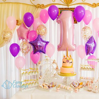 💕[IN STOCK/COD]💕5pcs Inflatable Birthday Party Decor Balloon Horse Aluminum Balloons