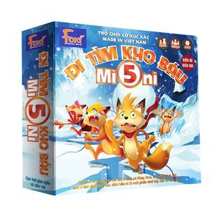 Board game-Đi tìm kho báu mini 5 Foxi-trò chơi chiến thuật-hài hước-siêu lầy-bổ ích và lý thú
