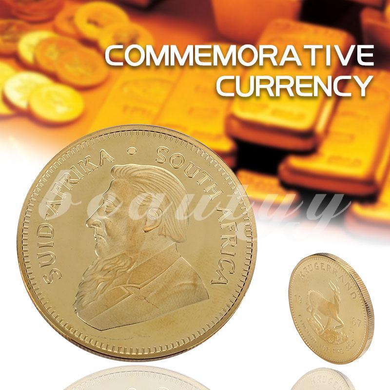 Đồng xu mạ vàng krugerrand cho sưu tầm