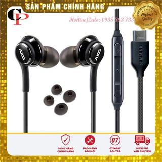Tai Nghe Samsung ⚡CHÍNH HÃNG⚡ Tai nghe AKG Type-C S20 Chất liệu cao cấp, dây bọc dù chống đứt và chống rối