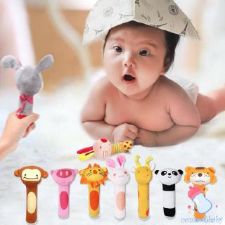 BB stick baby toy plush hand rattle bb stick animal bb stick