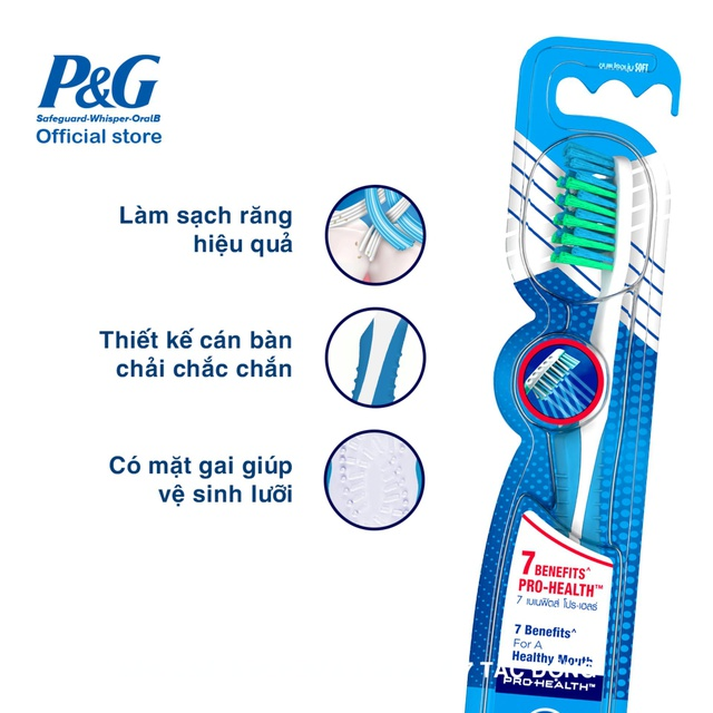 Bàn chải Oral-B 7 Tác Động