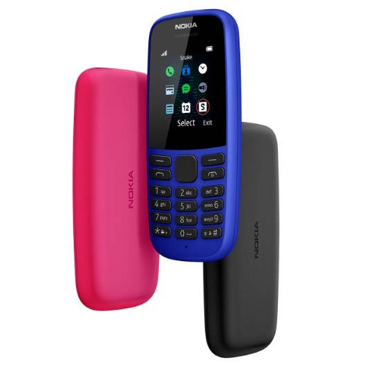 Điện thoại di động NOKIA 105 1 SIM (2019) - Hàng Chính Hãng