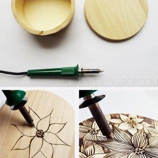 Bút khắc gỗ nhiệt HandMade Burnning