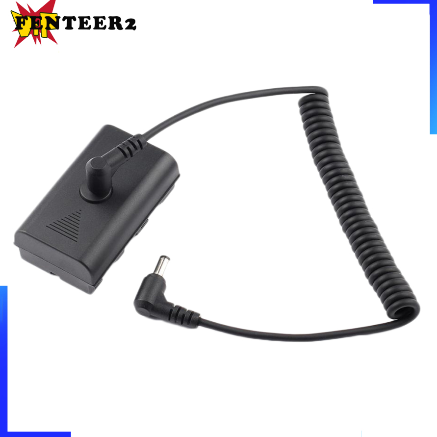 [Fenteer2  3c ]Universal Replacement Dummy Battery 7.4v with Spring Extender Cable for F550