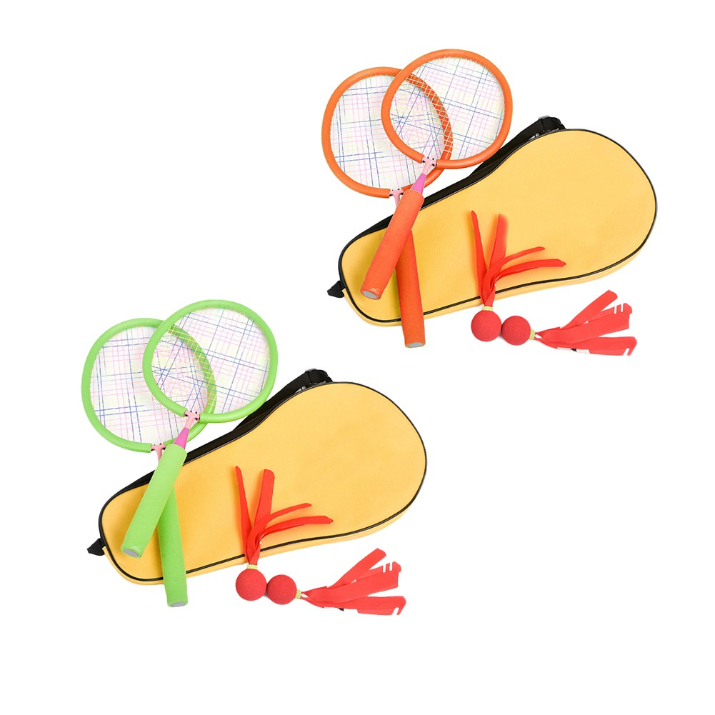 Children's Dedicated Battledore Baby Tennis Ball Outdoor Sport Kid Badminton Parent-child Toys