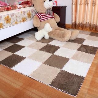Sét Thảm Lông xốp 15 tấm 30x30cm