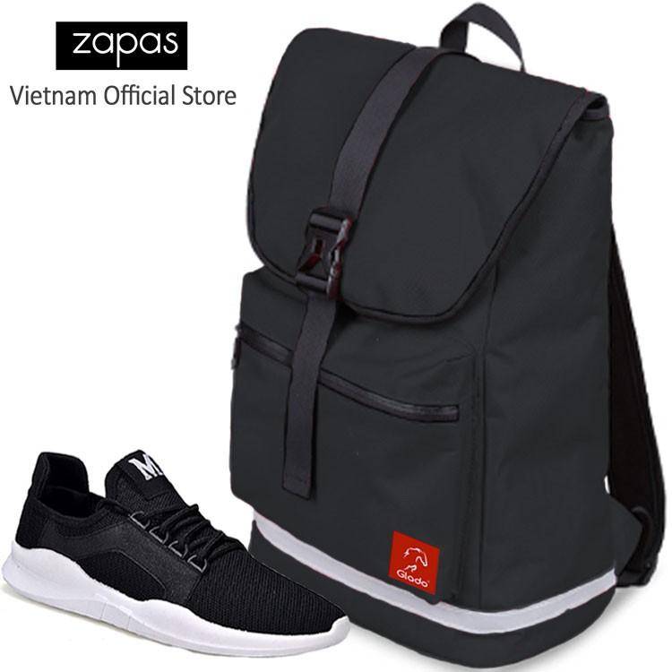 Combo Balo Du Lịch Glado Classical BLL005 (Màu Đen) Và Giày Sneaker Thể Thao Zapas GS085 (Đen) - 3019232 , 664949164 , 322_664949164 , 600000 , Combo-Balo-Du-Lich-Glado-Classical-BLL005-Mau-Den-Va-Giay-Sneaker-The-Thao-Zapas-GS085-Den-322_664949164 , shopee.vn , Combo Balo Du Lịch Glado Classical BLL005 (Màu Đen) Và Giày Sneaker Thể Thao Zapas