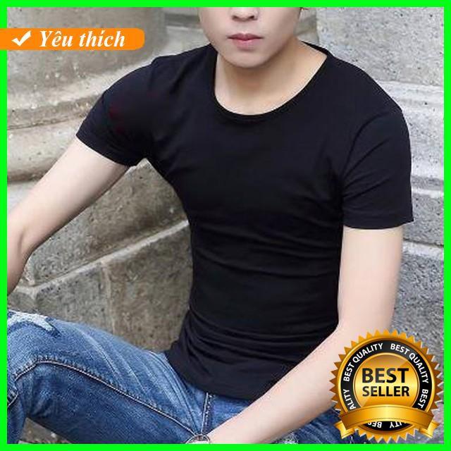 [New 2019] Áo Phông Trắng Nam Kiểu Dáng Trẻ Trung Thời trang nam mùa hè