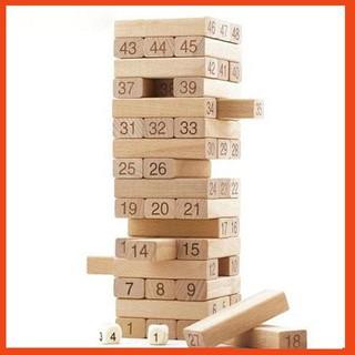 [BÁN CHẠY] Bộ đồ chơi rút gỗ 48 thanh to