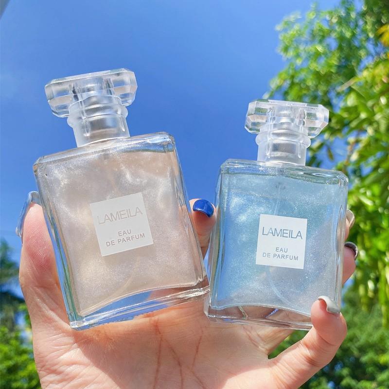 (Bán Buôn Sỉ) Nước Hoa Hương Tự Nhiên Lameila Quicksand Series Perfume, Xịt Thơm Toàn Thân Body Mist Lameila NH4