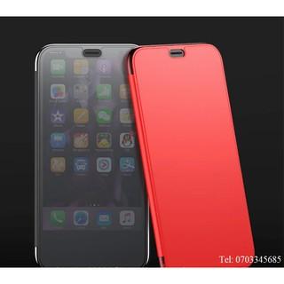 Bao da iPhone XR Baseus Slim Flip touch chính hãng