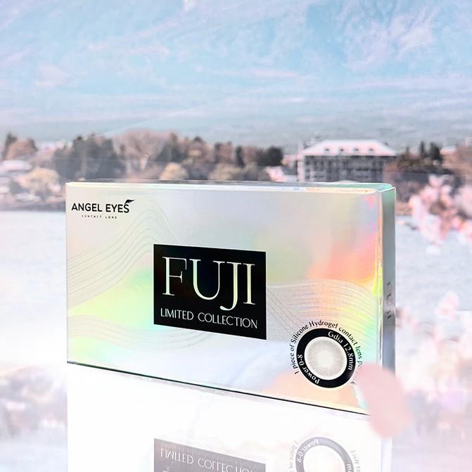 [Bán Chạy] Lens xám tây Fuji Gray có cận - GDia 13.0mm - Độ cận 0-8
