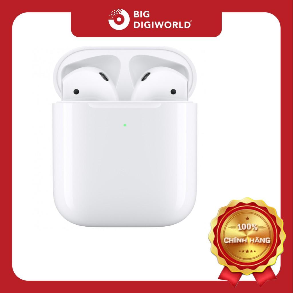 Tai nghe Apple Airpod 2 - Chính Hãng VN/A - Case sạc thường
