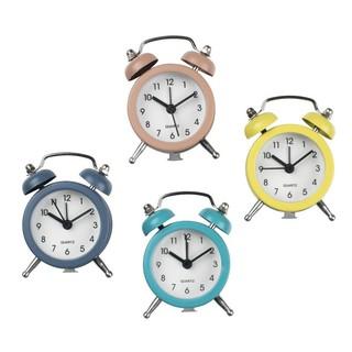 Đồng hồ báo thức JYSK Marvin sắt nhiều màu DK5xH8cm
