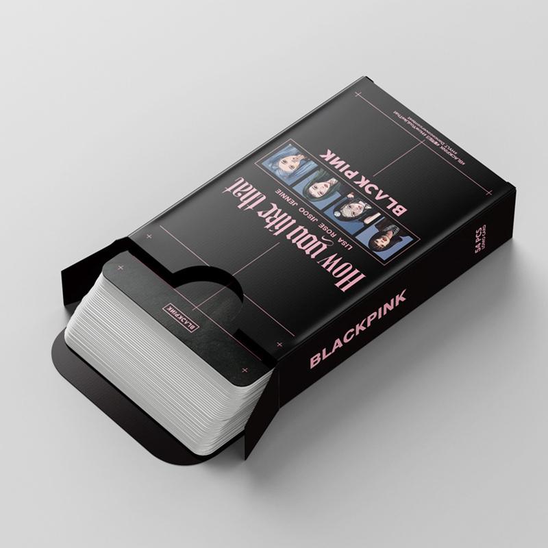 Set 54 Thẻ Ảnh LOMO In Hình Thành Viên Nhóm Nhạc Blackpink