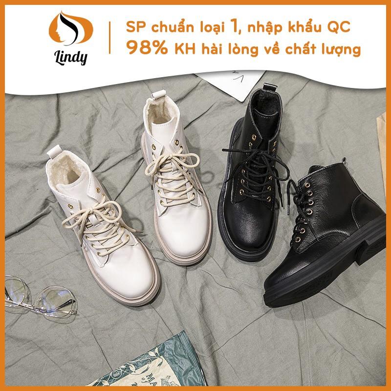 ⚡[CHỈ 1 NGÀY] Giày boots ulzzang cao cổ nữ mã 01 siêu đẹp (bản chuẩn QC)