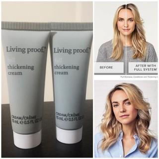 Kem làm dày tóc Living Proof Full Thickening Cream 15ml thumbnail