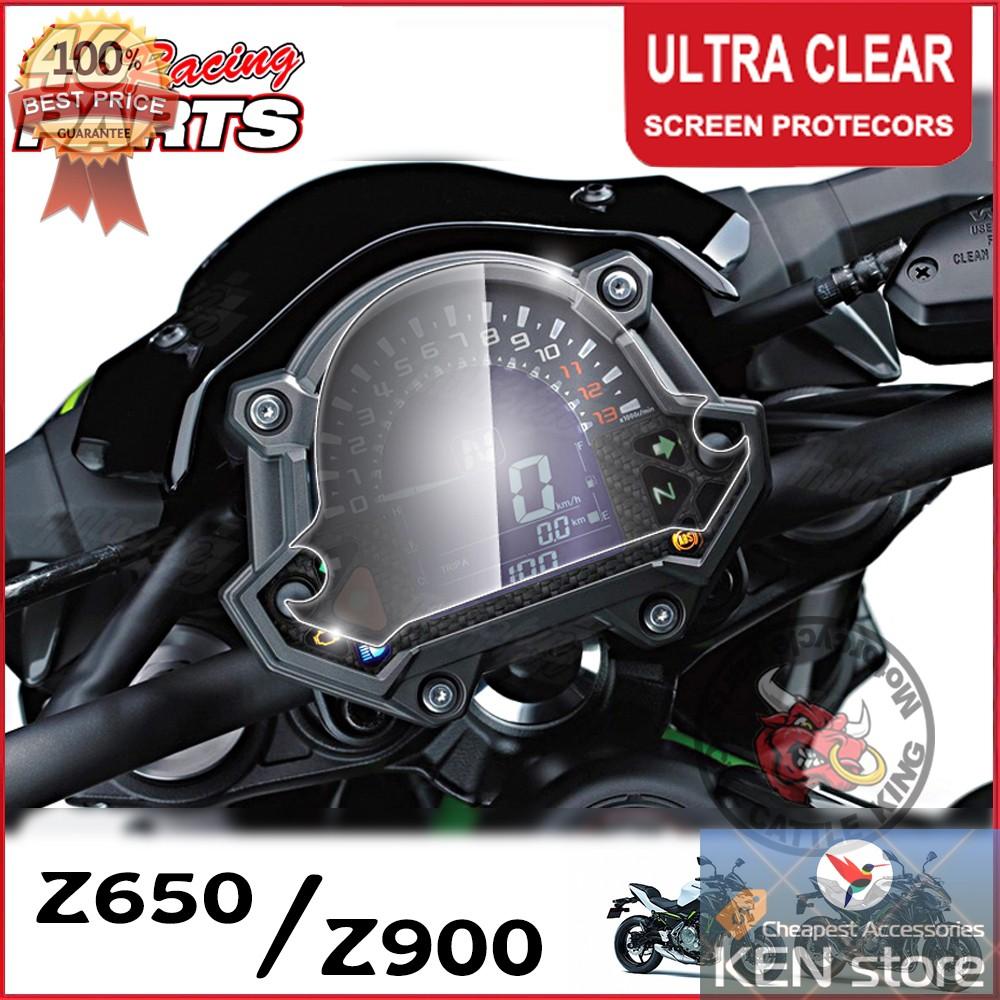 Bộ miếng dán cường lực bảo vệ mặt đồng hồ cho xe Kawasaki Z650 Z900