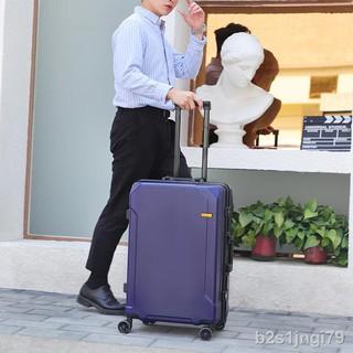 thời trang TMVali hành lý khung nhôm bánh xe phổ thông dành cho nam và nữ Hộp đựng đẩy công suất lớn 24 inch dày cabin 20 thumbnail