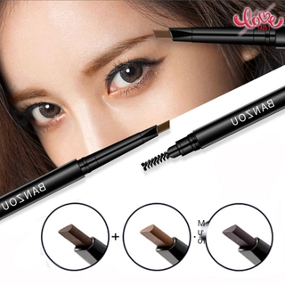 Double-headed eyebrow pencil double-headed eyebrow pencil Easy to color, thrush artifact