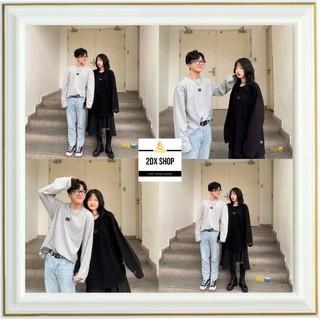 [ Có Ảnh Thật ] Áo Nỉ Ngoại In Ô Vuông Couple Cực Xinh Hot Trend thumbnail