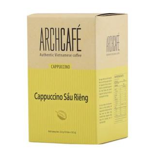 Cappuccino Sầu Riêng Archcafe cà phê hòa tan hộp 12 gói