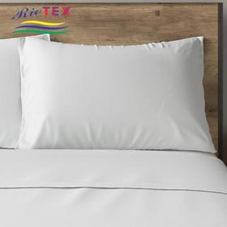 Vỏ gối Áo gối Cotton khách sạn trắng trơn CVC 50x70cm, 40×60, 35x100cm