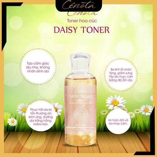 Toner hoa cúc Cénota Daisy, toner hoa cúc ngừa mụn, cân bằng độ ẩm mã - Shino_cosmetic