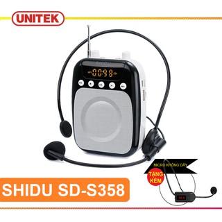 Máy Trợ Giảng Có Dây SHIDU SD-S358 TẶNG KÈM Micro Không Dây Cài Đầu Tiện Lợi thumbnail