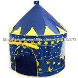 Lều lâu đài cho bé yêu (xanh)