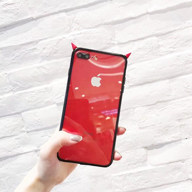 Ốp sừng đỏ cho iPhone
