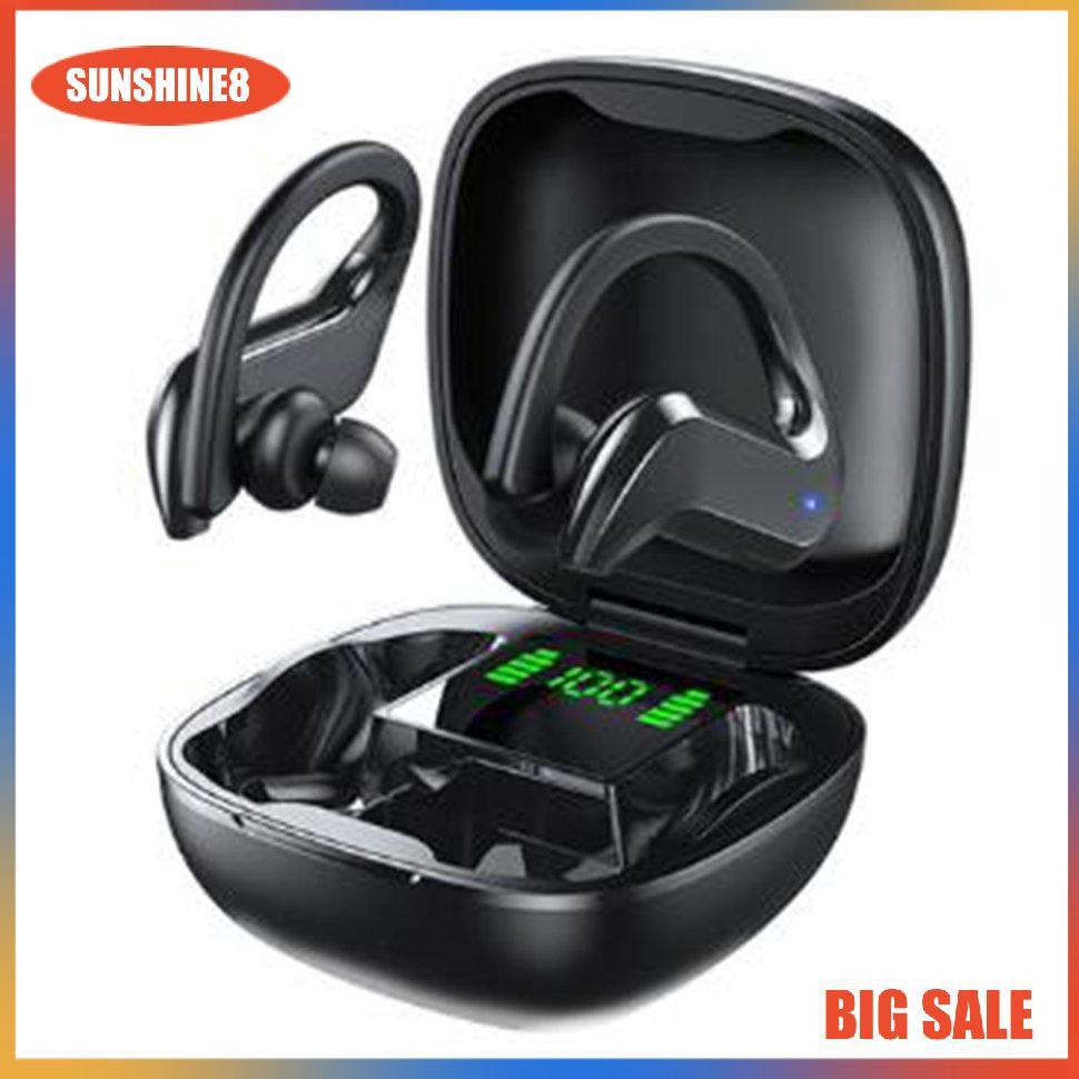 Tai nghe thể thao không dây MD03 chống thấm nước có màn hình hiển thị kỹ  thuật số tiện lợi - Tai nghe Bluetooth chụp tai Over-ear