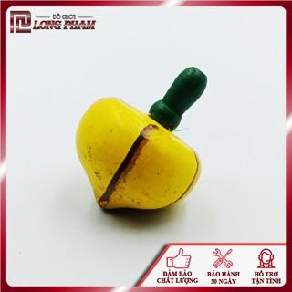 [XÃ LỖ NGHỈ DỊCH] Con quay gỗ hình trái cây dễ thương