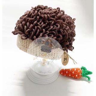 Mũ len tóc xoăn korea 🌿🌿🌿 xinh cho bé