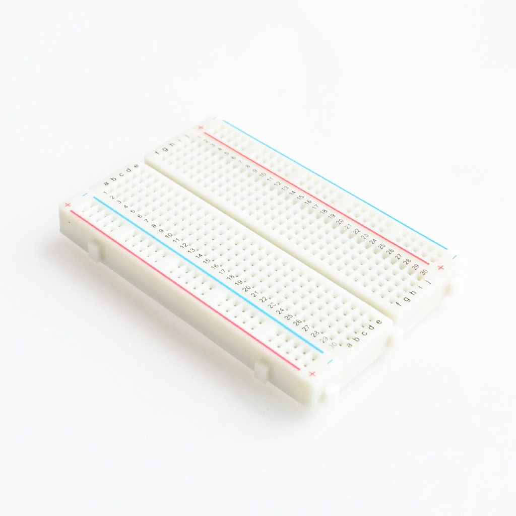 Quality mini bread board / breadboard 8 5CM x 5 5CM 400 holes