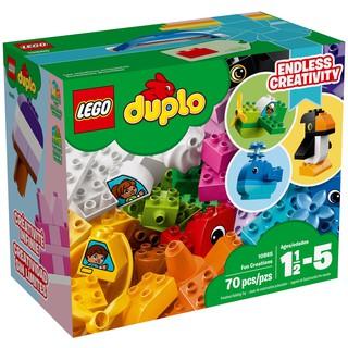 Đồ Chơi Xếp Hình Hộp Gạch Sáng Tạo Cỡ Lớn Cho Bé LEGO Duplo 10865 (70 Chi Tiết)